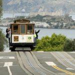 USA - San Francisco Cable Car and Alcatraz